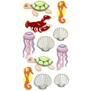 STICKER MOLUSCOS Y CRUSTACEOS