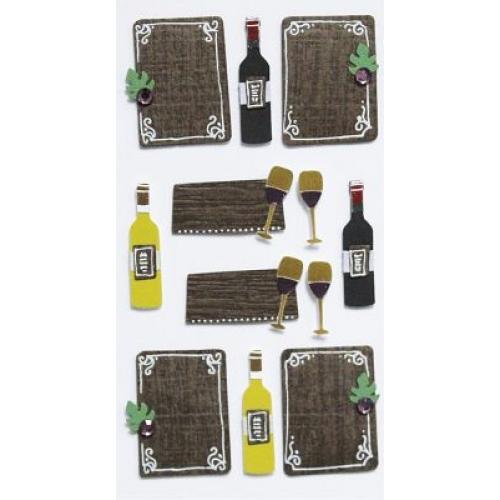STICKER WINE & DINE