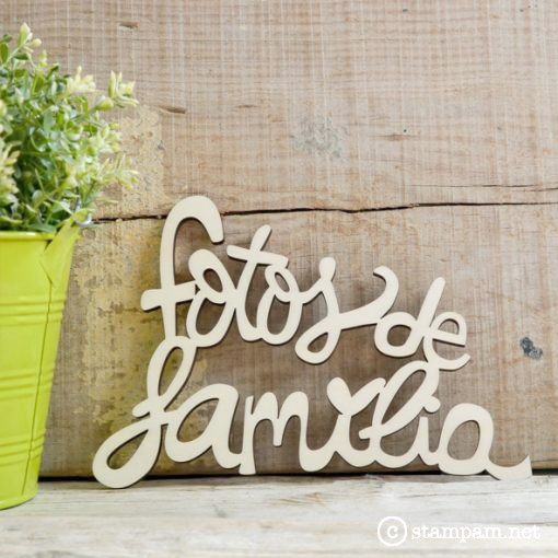 FRASE: FOTOS DE FAMILIA