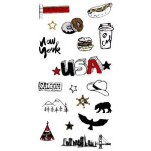 STICKER NYLON USA