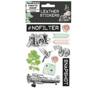 STICKER LEATHER VINTAGE