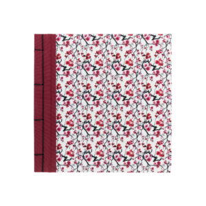 ALBUM JAPAN 23X23 CREAM ESTAMPADO FLORES