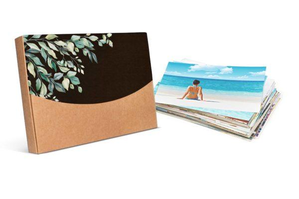 PROMO 50 Copias 10x15cm con caja decorada