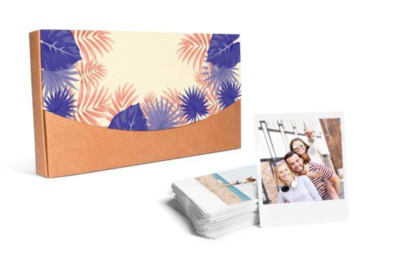 PROMO 100 Copias InstaPack 9x10cm con caja decorada