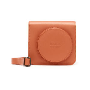 FUNDA INSTAX SQ1 TERRACOTA ANARANJADO