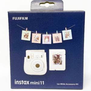 KIT ACCESORIOS INSTAX MINI 11 ICE-WHITE