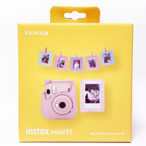 KIT ACCESORIOS INSTAX MINI 11 BLUSH-PINK
