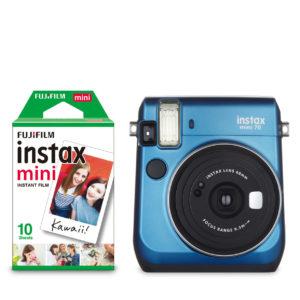 KIT INSTAX MINI 70 + FILM BLUE