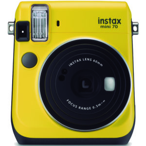 KIT INSTAX MINI 70 + FILM YELLOW