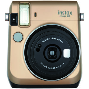 KIT INSTAX MINI 70 + FILM GOLD