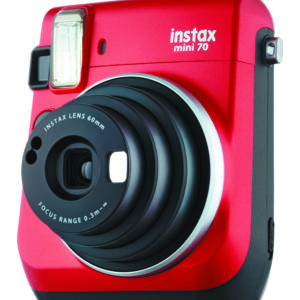 KIT INSTAX MINI 70 + FILM RED