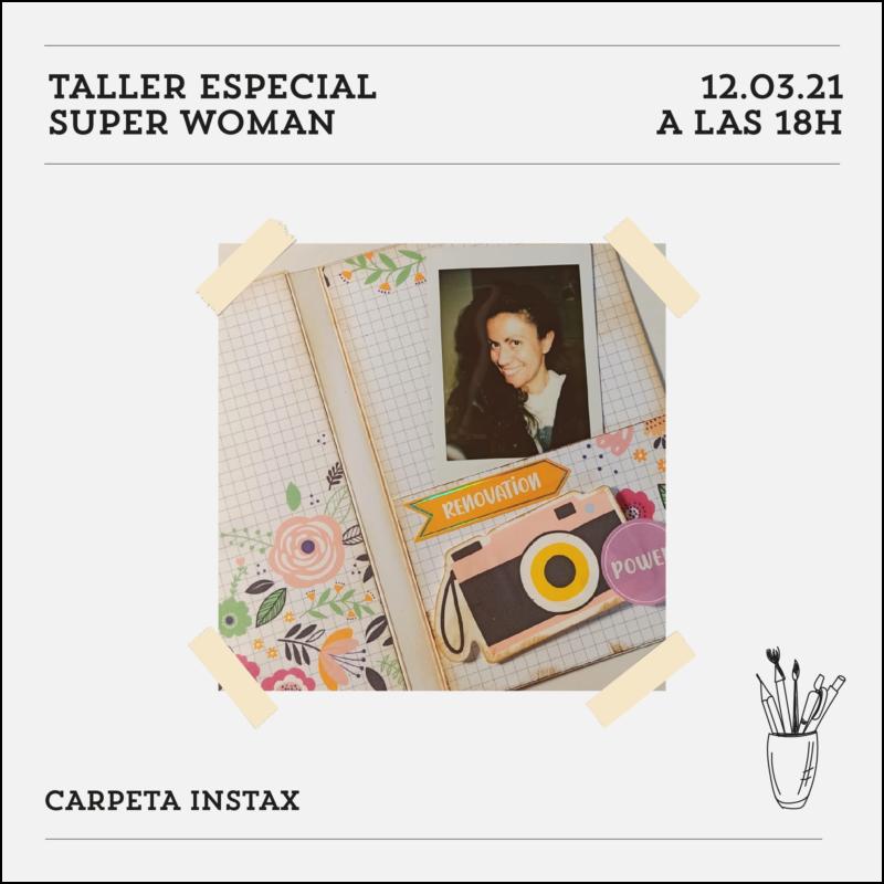 taller especial super woman